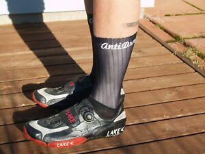 AntiDrag Aero Cycling Socks - Black