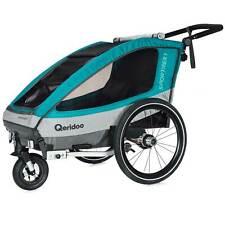 Qeridoo Sportrex 1 Bicycle Trailer Children 1 Seater Child Bike Trailer