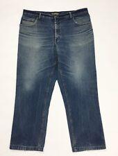 Mcp jeans uomo usato gamba dritta regular fit boyfriend W40 tg 54 denim T3989