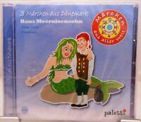 Märchen aus aller Welt + CD + 3 Geschichten aus Dänemark + Hörbuch für Kinder +