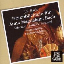 Tragicomedia - Notenbuchlein Fur Anna Magdalena Bach (Daw 50) (NEW CD)