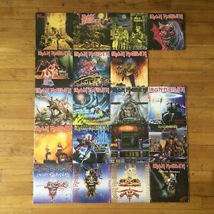 """Iron Maiden 19x7"""" Vinyles Lot excellent new rééditions Parlophone 2014"""