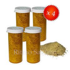 4 Pomos Polvo de Jutia Pescado y Maiz Ahumado- Santeria Smoked Hutia Fish & Corn
