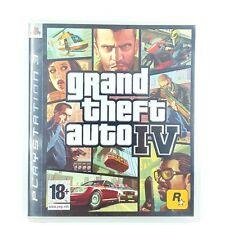 Grand Theft Auto IV 4 - Jeu PS3 - Avec notice et carte - Version française