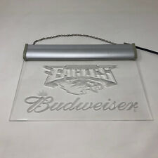 Philadelphia Eagles Budweiser Display Light Sign Hanging Blue Light