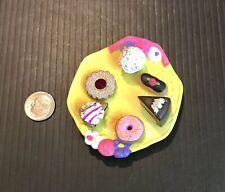 Vintage Kidsview Sweet Azalea Tea Bunnies Mini Desserts Party Plate Barbie