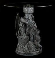 Drachen Tisch - Castle Guardian | Beistelltisch Gothic Fantasy Figur Statue Deko