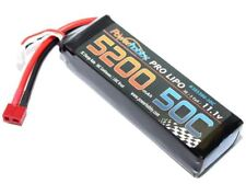 Power Hobby - 5200mAh 11.1V 3S 50C LiPo Battery w/ Hardwired T-Plug