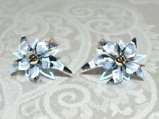 Abstract Poppy Stud Earrings Pie 00004000 rced New $245 Alexis Bittar Lucite