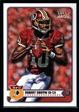 ROBERT GRIFFIN III RG3 MINT BROWNS ROOKIE CARD RC SP 2012 TOPPS MAGIC #100