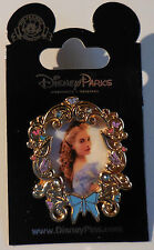 Disney Pin Cinderella Gold & Gem Framed Portrait 3D 2015 Pin