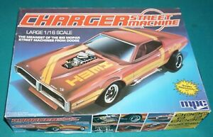 Charger Street Machine MPC 1/16 Complete & Unstarted.