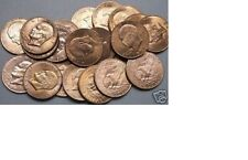 1971-1978~~ONE (20 coin) ROLL---EISENHOWER MIXED DATE DOLLARS