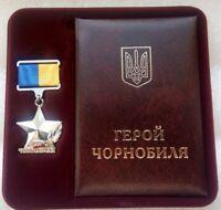 Russian Ukraine HERO of CHERNOBYL Tragedy Star / USSR Nuclear Tragedy /New