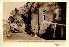 Italia, Roma, Rupe Tarpea  Vintage albumen print. Italy. Rome  Tirage albuminé
