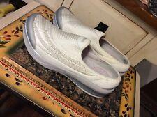 BZees Naturalizer Summer white Loafer Comfort Shoe Women's 7M.EUC
