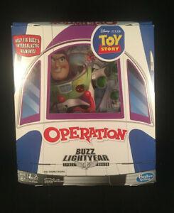 Disney Pixar Toy Story Buzz Lightyear Operation Board Game