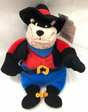 "Disney Mickey Mouse Clubhouse Frontierland Pete Outlaw 8"" Disney Bean Bag Plush"