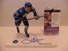 Joe Nieuwendyk Autographed Toronto Maple Leafs McFarlane JSA COA Jersey VARIANT