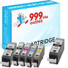Compatible Printer Ink Cartridges Replace Canon PGI-520 & CLI-521 - 6 Pack