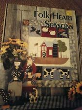 Decorative Tole Painting Pattern Book Folk Heart Seasons