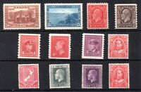 Canada KGV-KGVI mint MH collection WS9660