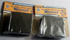 """2"" Roco Minitanks,1 # 303A & 1 303S. 2 containers each for 5 t. trucks, HO 1:87"