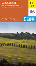 WINCHESTER Map - OL 32 - OS - Ordnance Survey - *NEW* INC. MOBILE DOWNLOAD