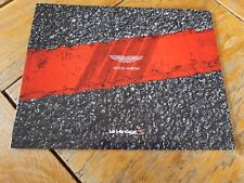 Brochure ASTON V12 VANTAGE S 2014-2015 : catalogue de 36 pages en français