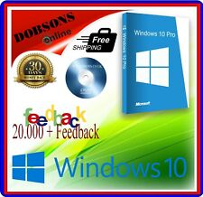Windows 10 Home / Professional PC Fitter Recovery Reinstall Disc 64/32 bit DVD