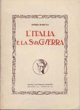 L'Italia e la sua guerra.