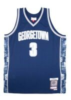 Authentic Mitchell and Ness Georgetown Hoyas Allen Iverson Jersey MED swingman