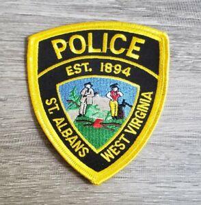 St. Albans West Virginia Police Shoulder Patch