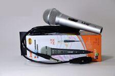 Microfono Professionale Dinamico E Palmare Linq M636 Jack 6,3mm