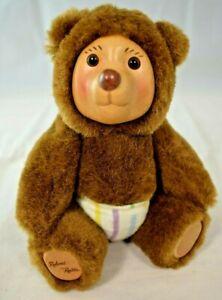 "Applause - Raikes Bears - Nursery Miniatures ""Robbie with Rocking Chair"""