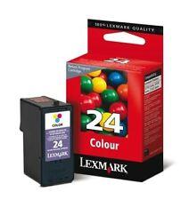 Cartuchos de tinta tricolor Lexmark para impresora