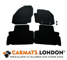 Ford SMAX 2006 - 2014 Tailored Car Floor Mats Complete Fitted Set in Black, Oval