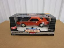 1:18 1970 Plymouth  AAR CUDA Ertl American Muscle diecast Orange