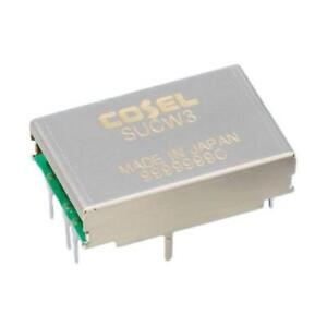 1 x Cosel 3W Isolated DC-DC Converter, I/O isolation 500V ac, Vout ±15V dc
