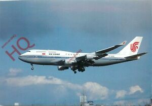 Picture Postcard~ AIR CHINA BOEING 747-4J6 B-2466 [POS]