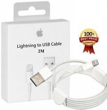 Genuine 2M Apple Lightning To USB Sync Charger Cable for Fast Charge and Sync