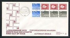 FDC Philato met Postzegelboekje PB20 - PB 20, blanco met open klep