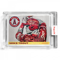 Topps Project 70 - Mike Trout 1961 - 2021 By Lauren Taylor - Artist Proof! /51