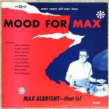 MAX ALBRIGHT ~ MOOD FOR MAX ~ VINTAGE VINYL LP ~ 12 TRACKS