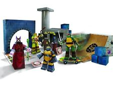 Teenage Mutant Ninja Turtles Blueprints Lair Deluxe Pack Ages 6+ Toy Papercraft