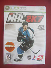 NEW NHL 2K7 (Microsoft Xbox 360 LIVE, 2006) FROM CANADA