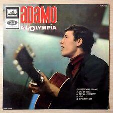 """#536 ADAMO """"A L'OLYMPIA"""" - AVEC LANGUETTE - VG++/VG++ - N° FELP 295 - LP 33TOURS"""