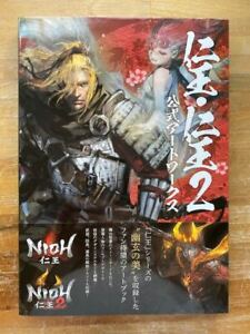 Nioh . Nioh 2 Official Art Works - GAME ARTBOOK NEW