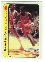 1986-87 Fleer Michael Jordan Rookie Sticker #8 RP GEM MINT Condition
