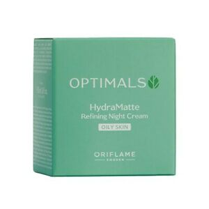 Optimals Hydra Matte Refining Night Cream Oily Skin 50 ml 34304 Oriflame Sweden